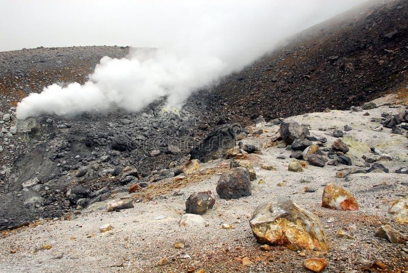 Camino vulcanico immagini stock