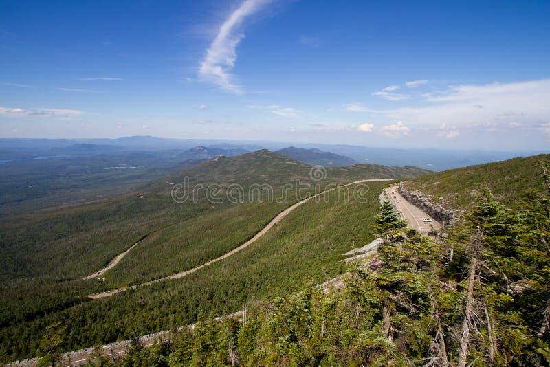 Caminos de la montaña fotografía de archivo libre de regalías