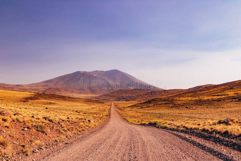 Caminos de la Patagonia imagen de archivo libre de regalías
