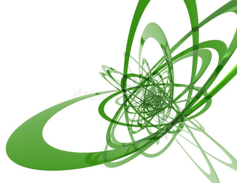 Caminos del electrón ilustración del vector