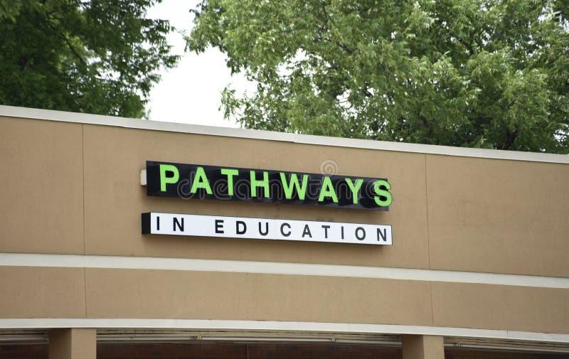 Caminos en la educación, Memphis, TN fotografía de archivo