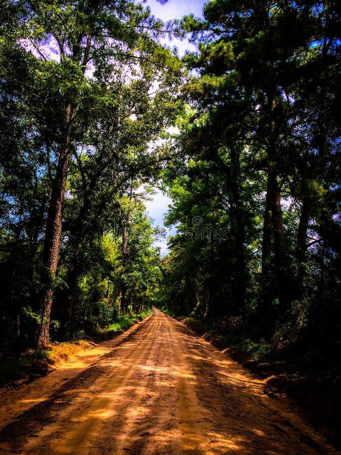 Caminos traseros fotografía de archivo libre de regalías