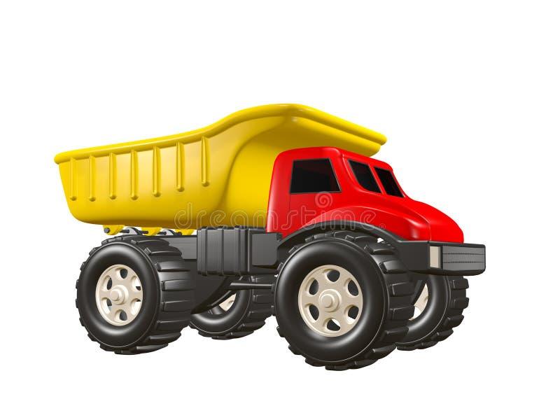 Camion à benne basculante de jouet illustration de vecteur