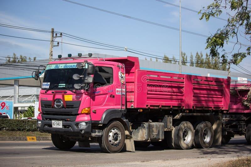 Camion à benne basculante de Thanachai Company images stock