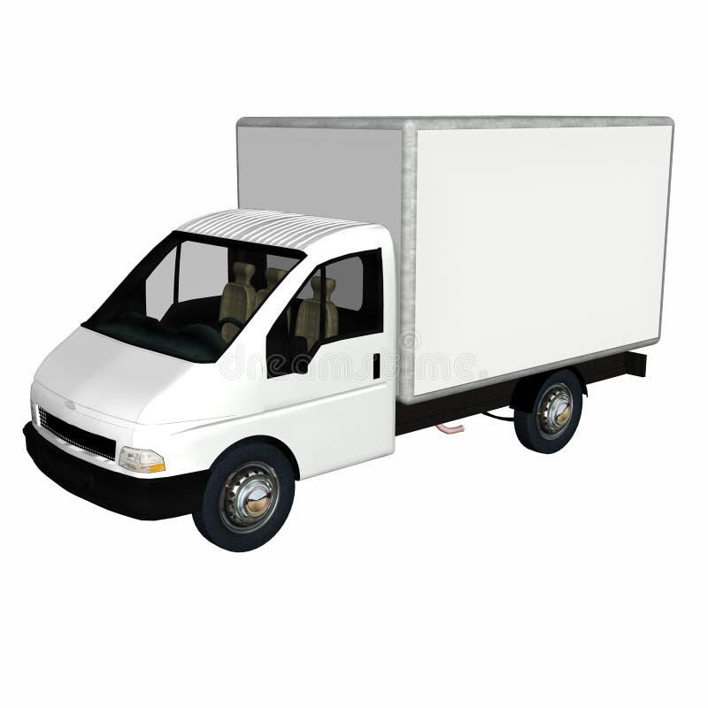 Camion 1 de cargaison de la distribution illustration libre de droits