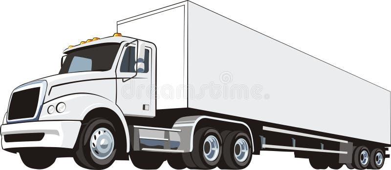 Camion illustration de vecteur