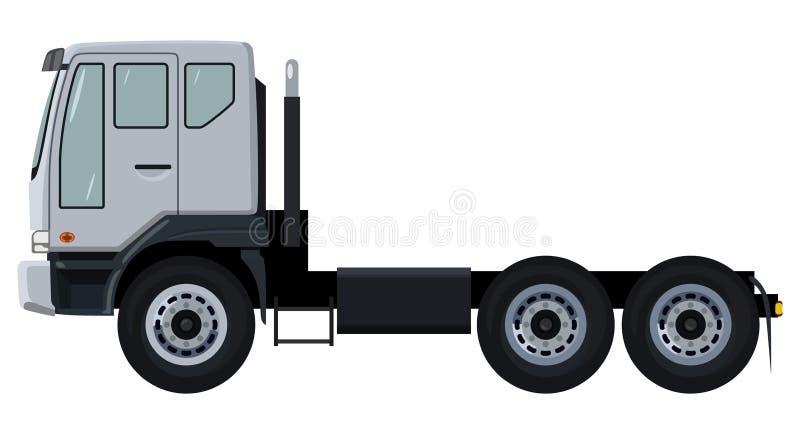 Camion bianco illustrazione di stock