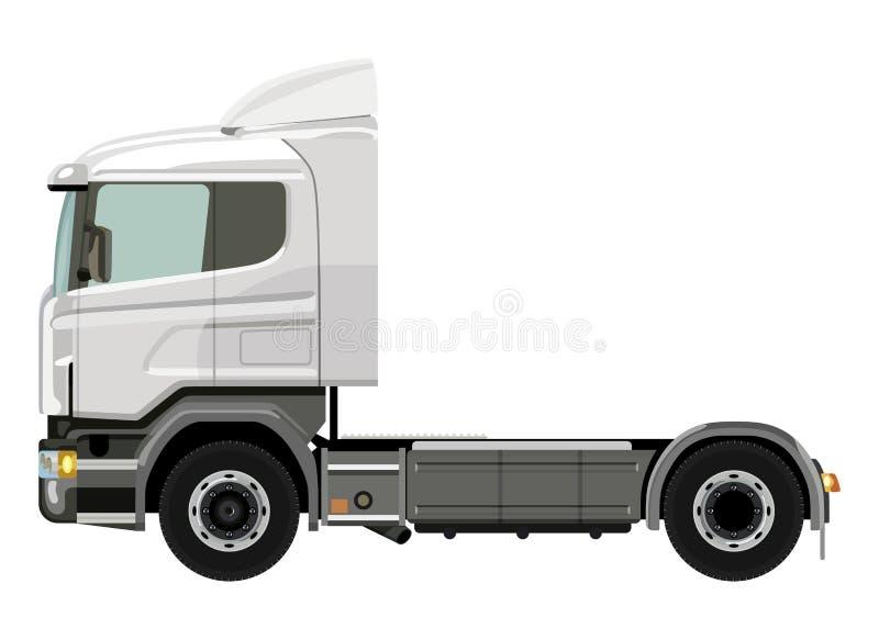 Camion bianco illustrazione vettoriale