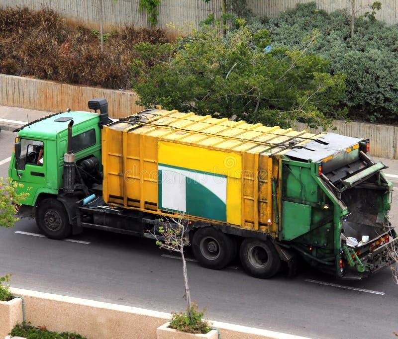 Camion/camion dell'accumulazione di rifiuti fotografia stock libera da diritti
