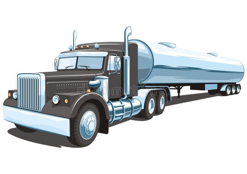 Camion cisterna illustrazione vettoriale