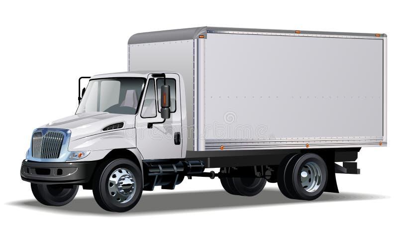 camion commerciale Ciao-dettagliato illustrazione di stock
