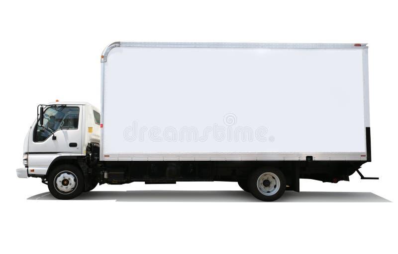 Camion commovente fotografia stock libera da diritti