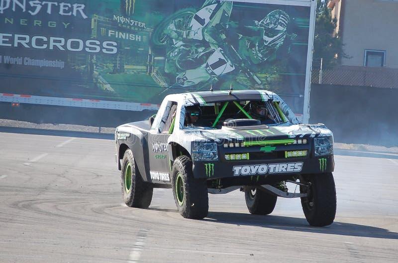 Camion d'énergie de monstre images stock