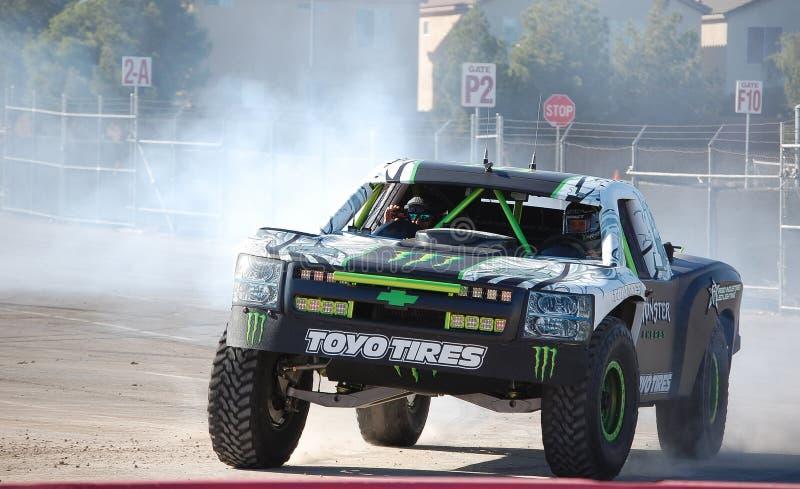 Camion d'énergie de monstre photos libres de droits