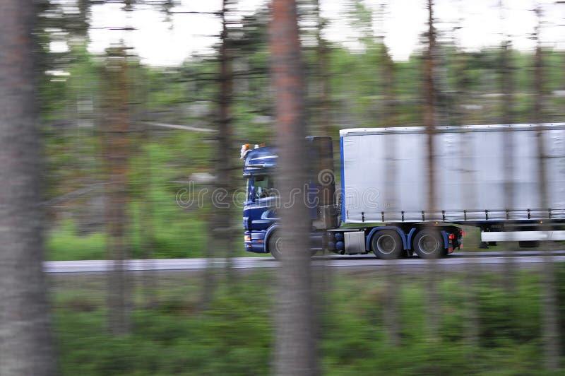 Camion d'accelerazione immagine stock libera da diritti
