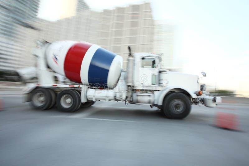 Camion d'accelerazione immagine stock