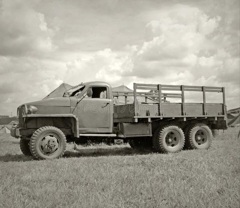 Camion d'armée d'Olr image libre de droits