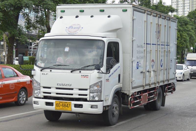 Camion d'Isuzu Trailer photographie stock libre de droits