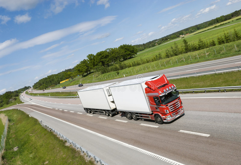 camion de ci-avant photos libres de droits