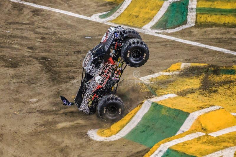 Camion de confiture de monstre de Mulisha en métal photo libre de droits