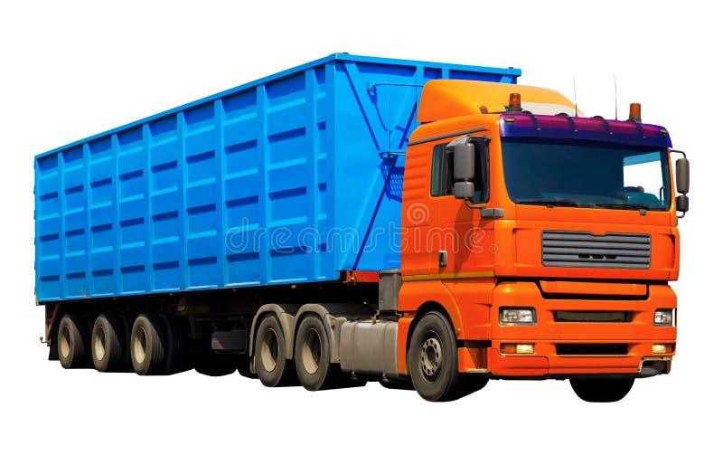 Camion de conteneur image stock