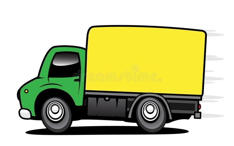 Camion de distribution illustration stock
