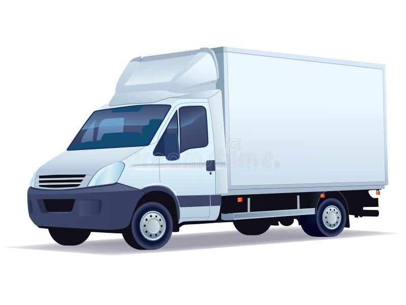 Camion de distribution illustration libre de droits