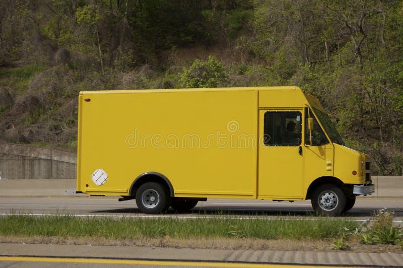 Download Camion de distribution image stock. Image du produits, panneau - 731591