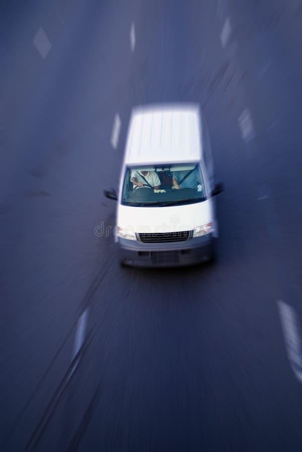 Download Camion De Distribution De Mouvement Image stock - Image du rapide, livrez: 2149699
