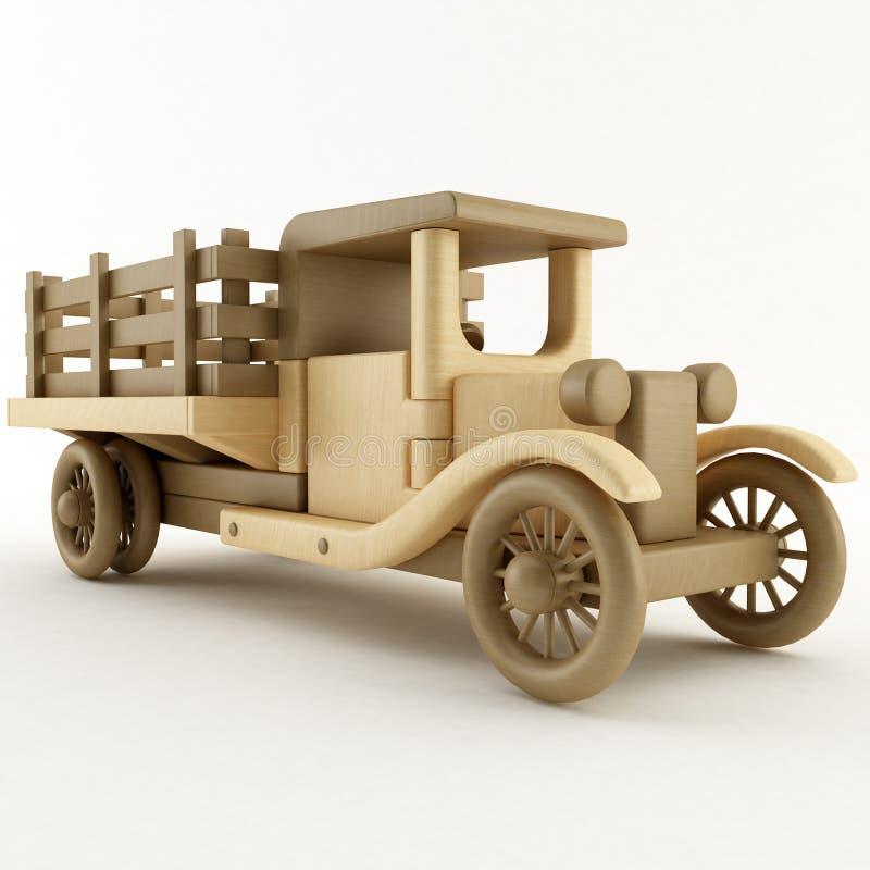 Camion de ferme de jouet illustration de vecteur