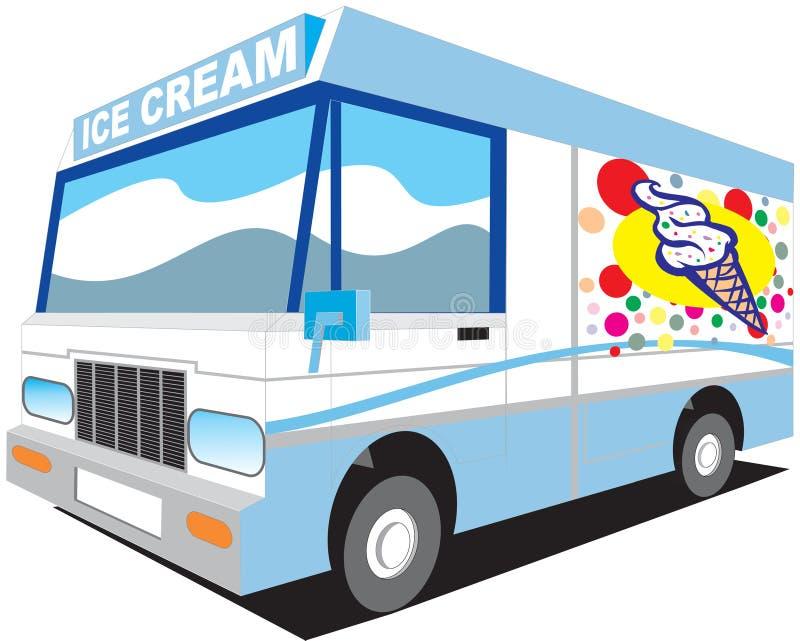 Camion de glace illustration libre de droits