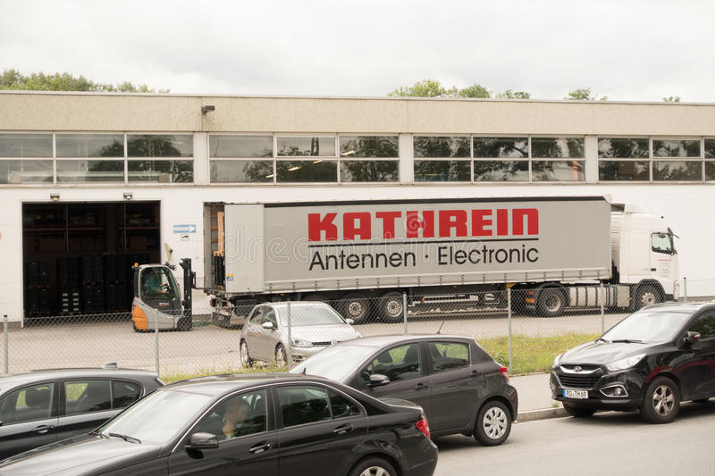 Camion de Kathrein photos stock