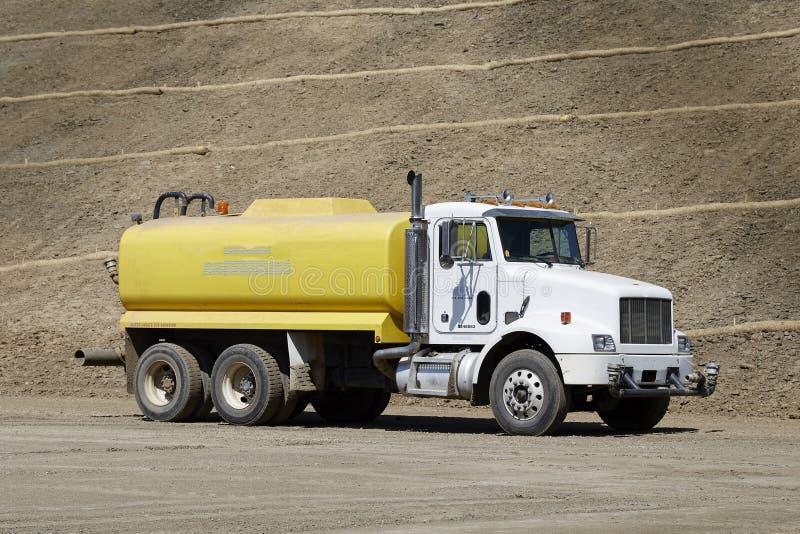 Camion de l'eau photo stock