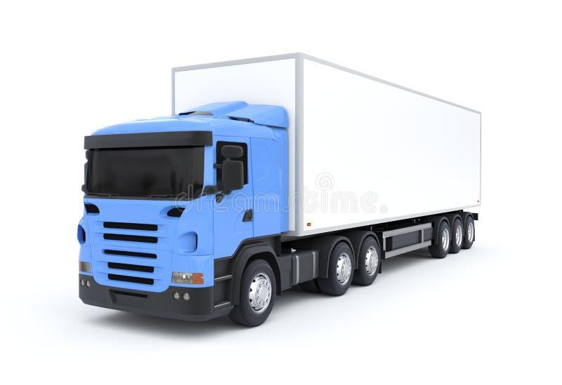 camion de livraison illustration stock illustration du fourgon 45123474. Black Bedroom Furniture Sets. Home Design Ideas