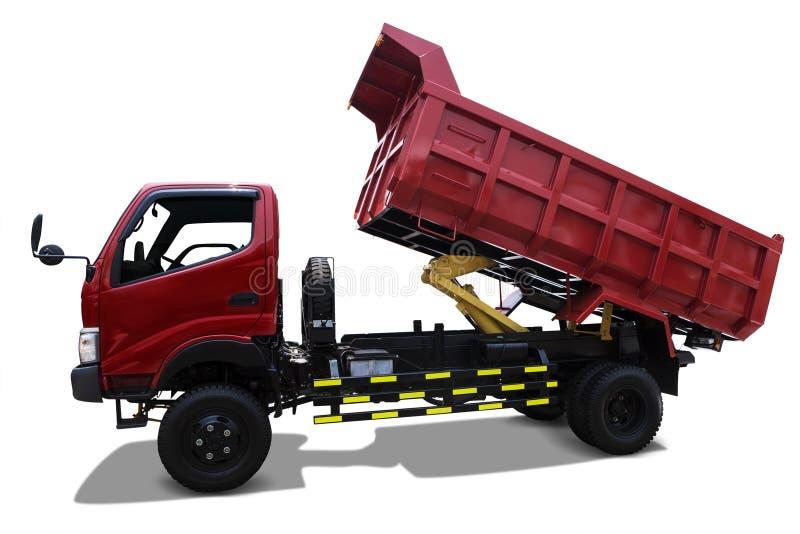 Camion de livraison - d'isolement photographie stock libre de droits