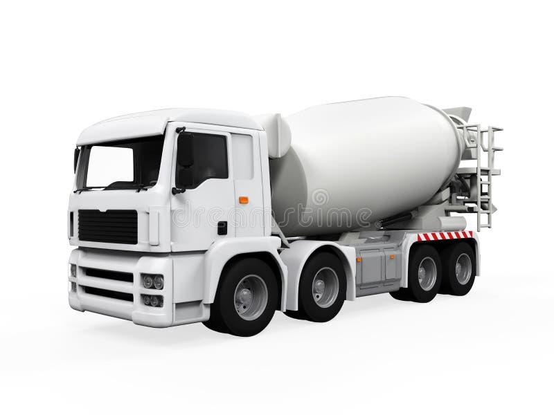 Camion de mélangeur concret illustration stock