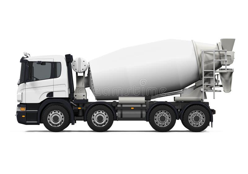 Camion de mélangeur concret photos libres de droits