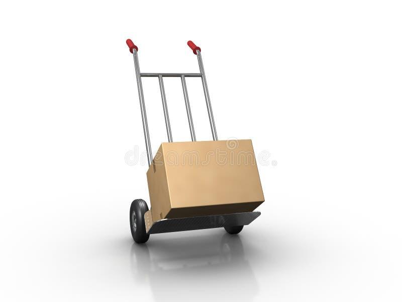 Camion de main illustration de vecteur