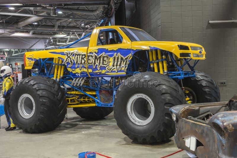 Camion de monstre photographie stock libre de droits