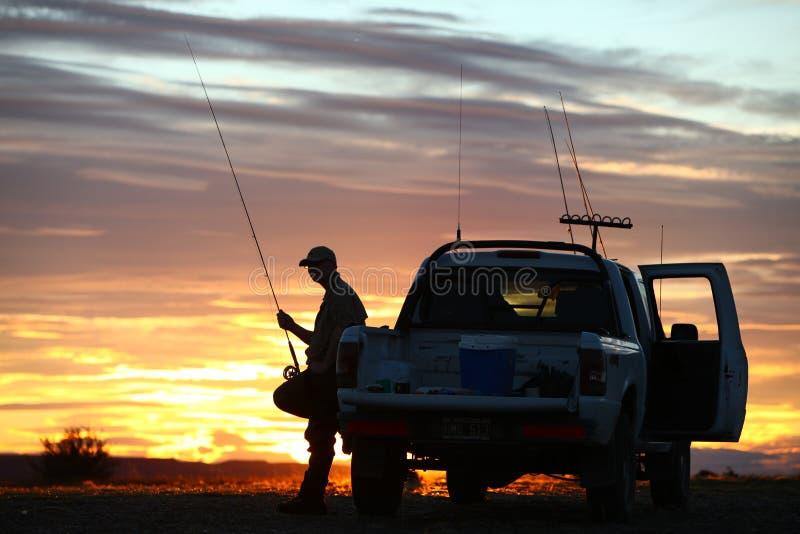 Camion de pêche photographie stock libre de droits
