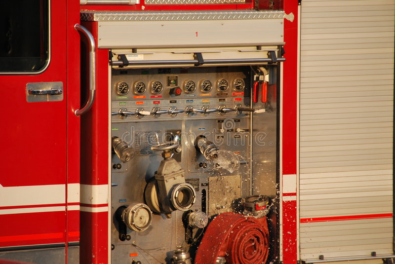 camion de pompiers photo libre de droits