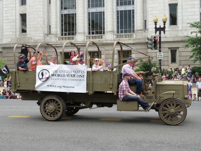 Camion de Première Guerre Mondiale image libre de droits