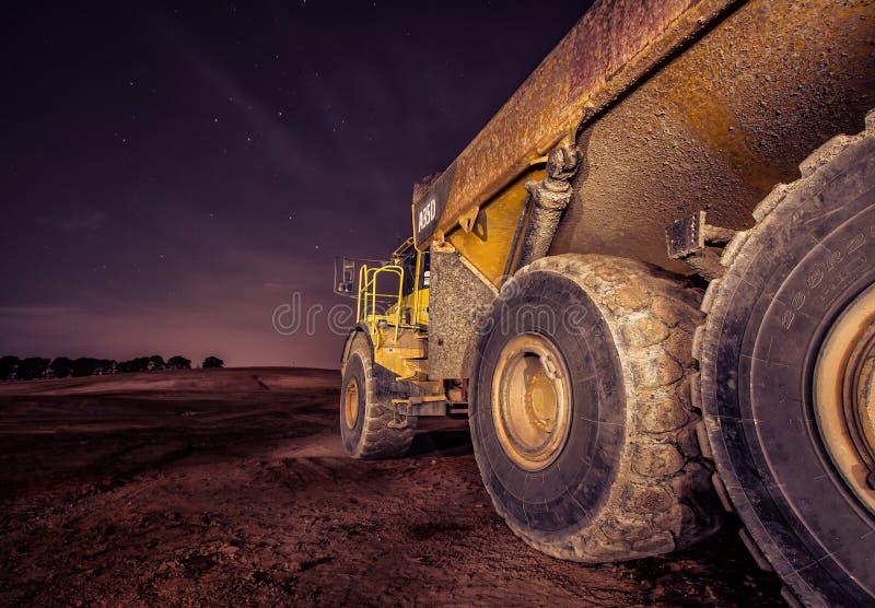Camion de roche photos stock