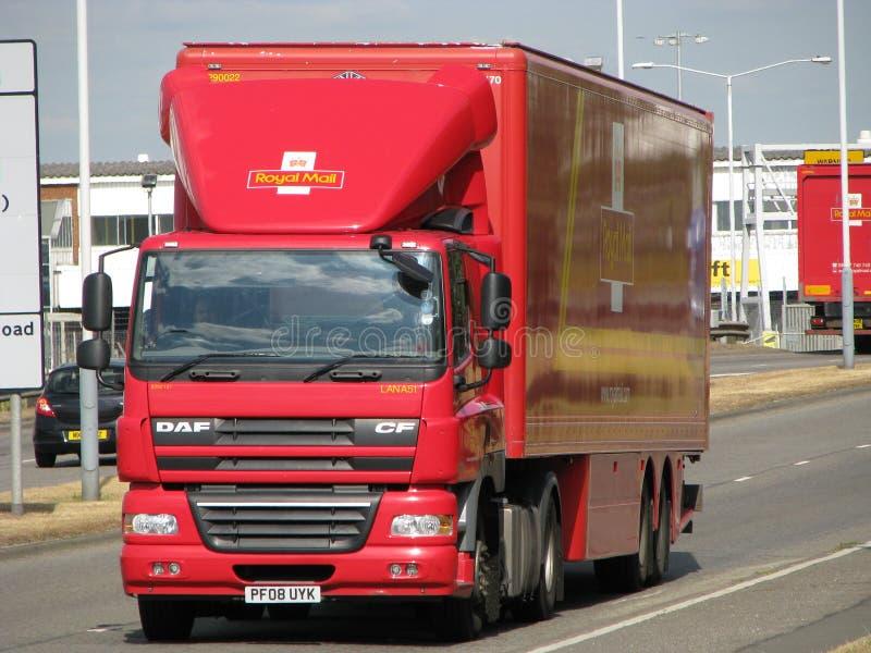 Camion de Royal Mail photographie stock libre de droits