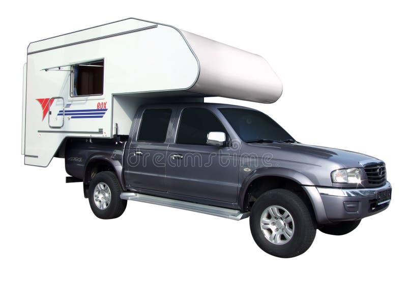 Camion de rv photographie stock