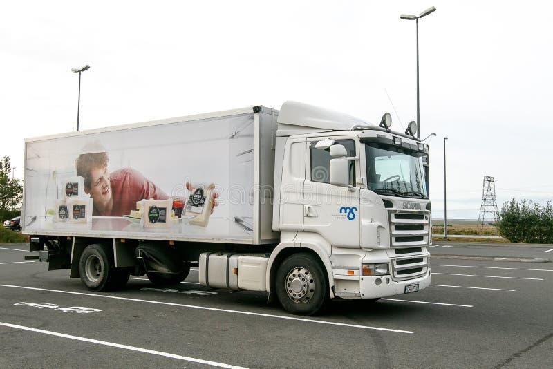 Camion de Scania photographie stock libre de droits