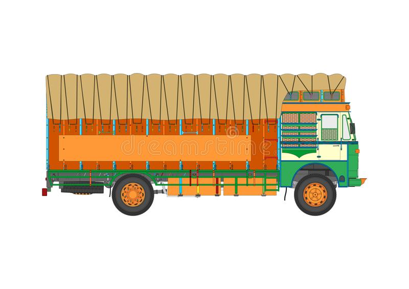 Camion de tintement illustration libre de droits