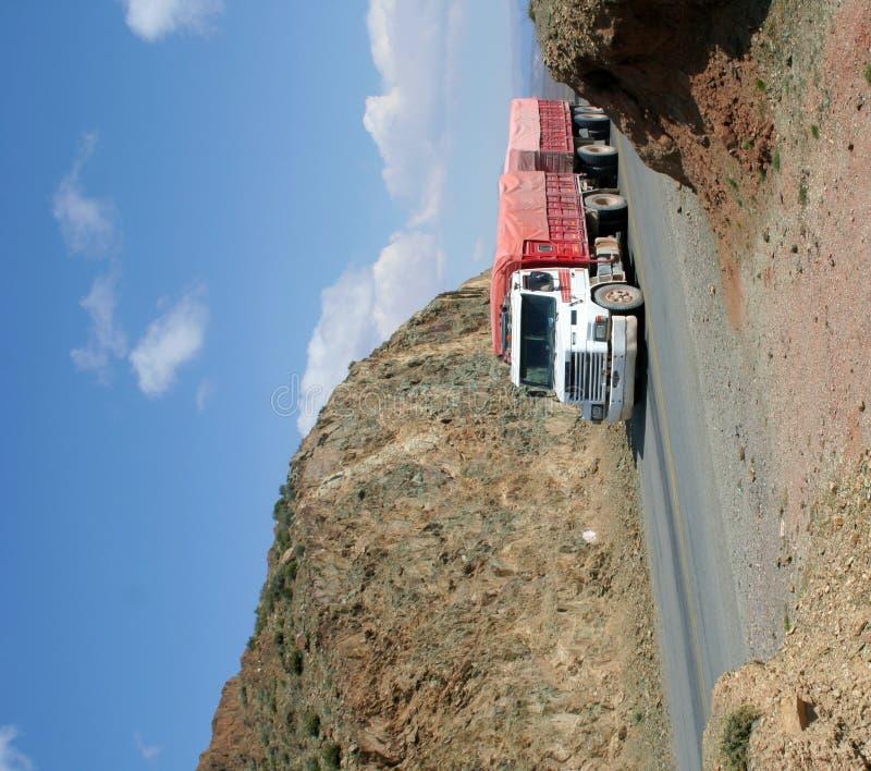 Camion de transport photographie stock