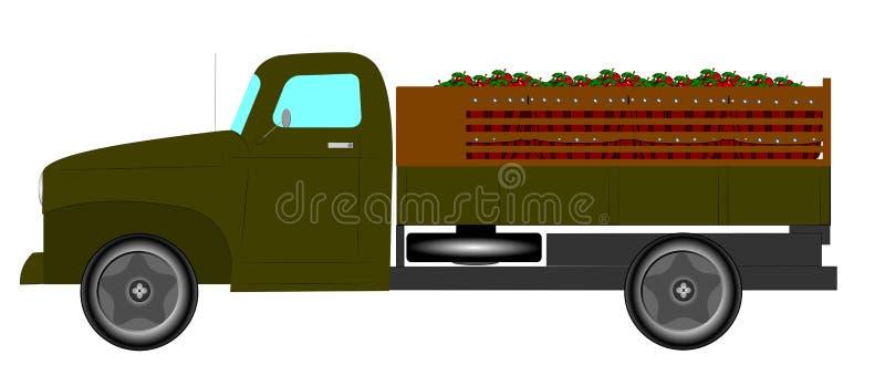 Camion de vintage illustration libre de droits