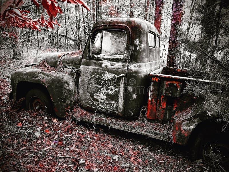 Camion de vintage images stock